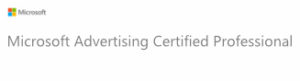 Microsoft Advertising Certified Professionals